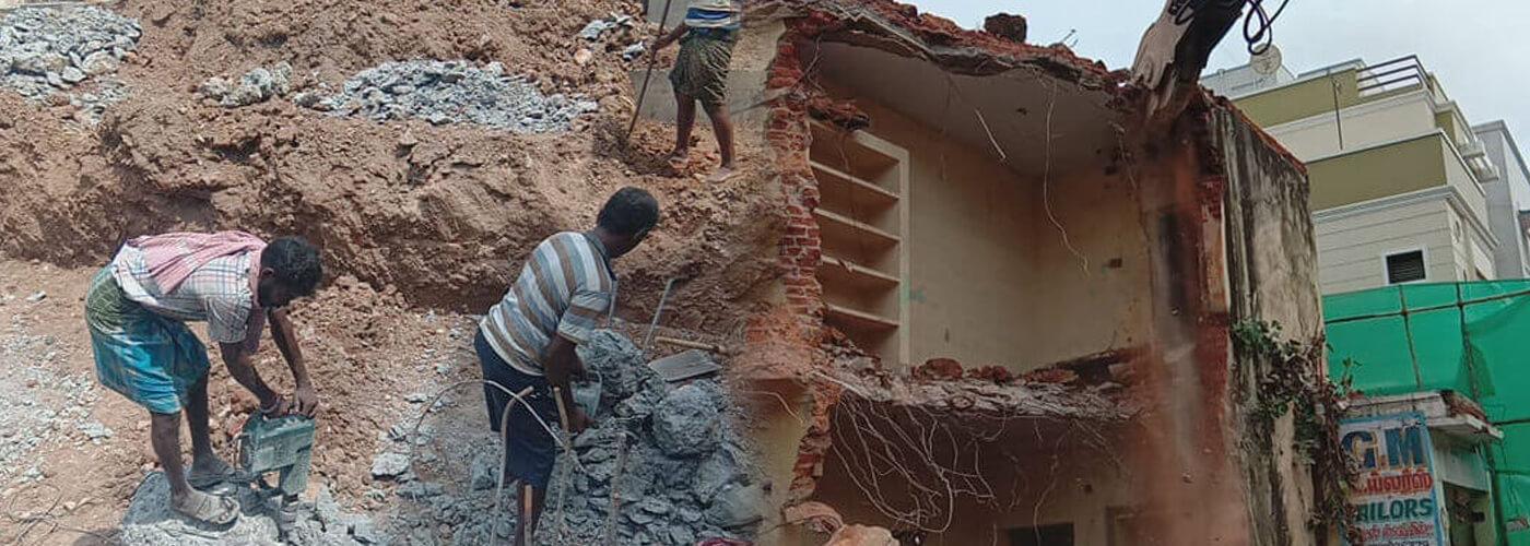 Building Demolition work in Chennai