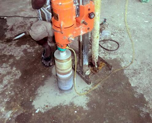 RCC Concrete Cutting Core Contractors in Chennai